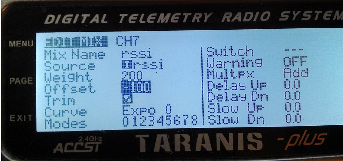 RSSI-taranis-ppm-channel-mixer-settings