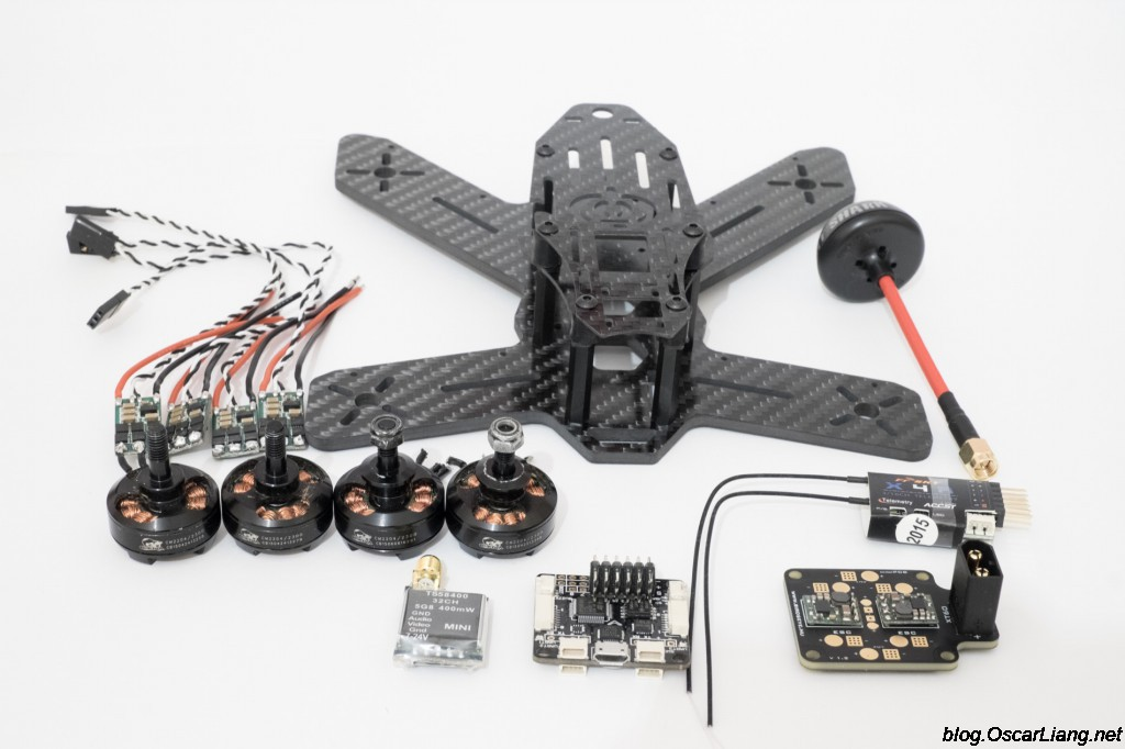 The-Midge-180-Mini-Quad-Frame-build-parts-components-esc-motor-fc-pdb