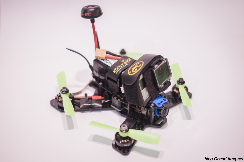 The-Midge-180-Mini-Quad-Frame-build-side-2