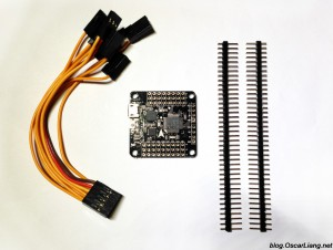 XRacer-F303-flight-controller-connectors-header-pins