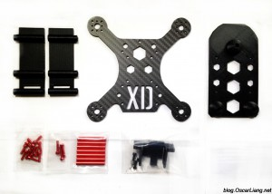XpertDrone-XD-Stealth-150-Mini-Quad-Frame-4inch-Package