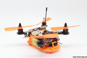 XpertDrone-XD-Stealth-150-Mini-Quad-Frame-official-build-1