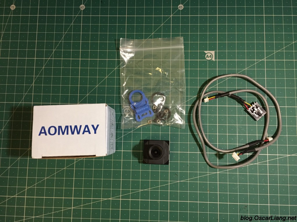 Aomway-1200TVL-CCD-FPV-Camera-package
