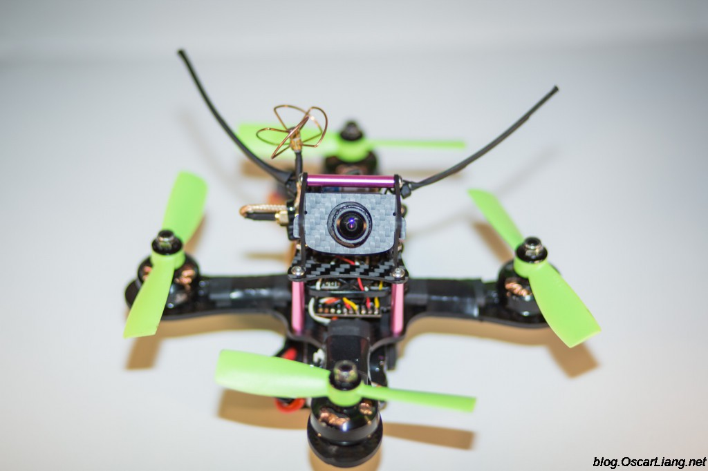 Mitsuko-150-Mini-Quad-frame-build-front