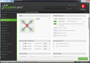 Cleanflight-configurator-chrome-app