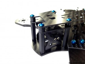 DemonRC-NOX5-210-Mini-Quad-Frame-HD-camera-top-plate-mount