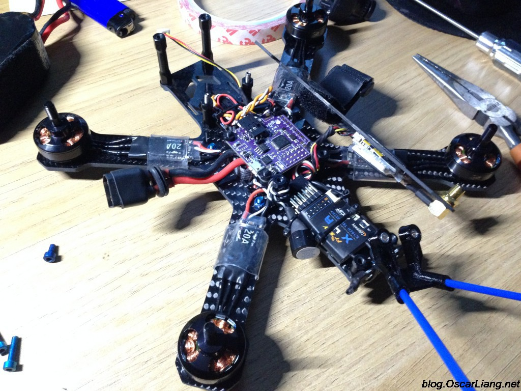 speed-addict-210-r-mini-quad-build-all-component-connected