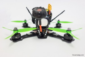 Rotoracer-RR210-mini-quad-Frame-build-LED-rear