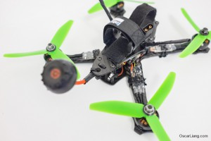 Rotoracer-RR210-mini-quad-Frame-build-intofpv-lipo-strap