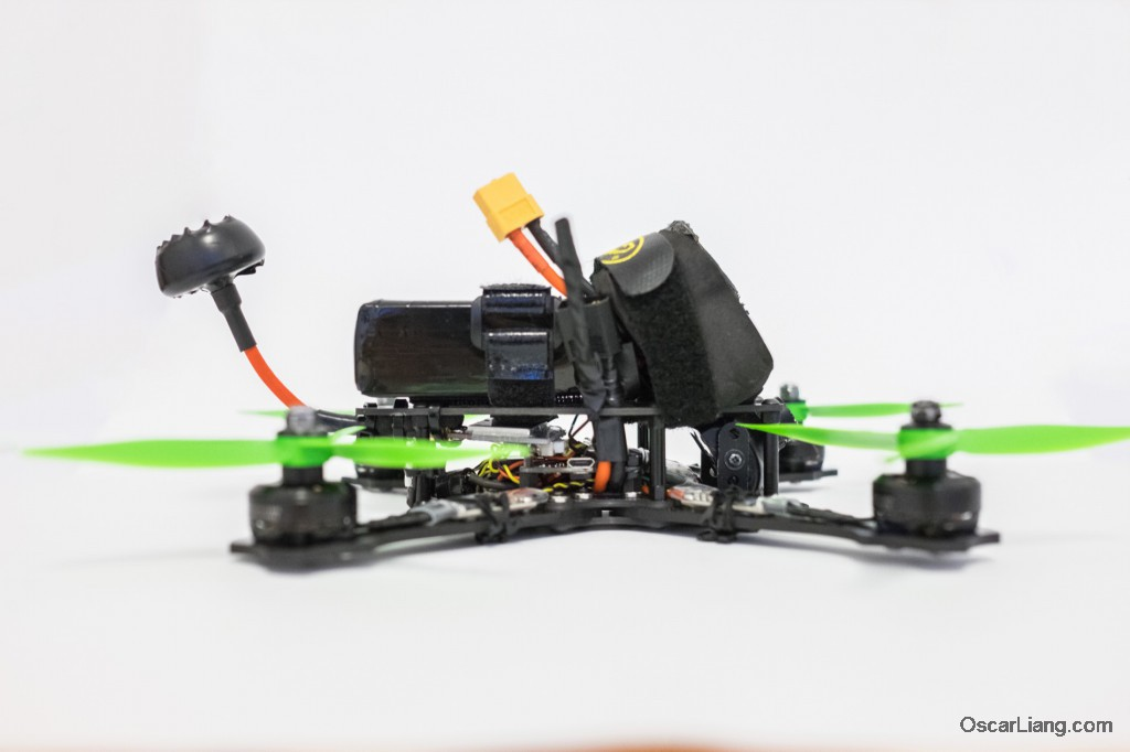 Rotoracer-RR210-mini-quad-Frame-build-kiss-fc-side