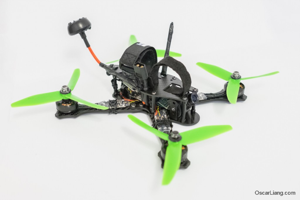 Rotoracer-RR210-mini-quad-Frame-build-without-battery-hd-camera