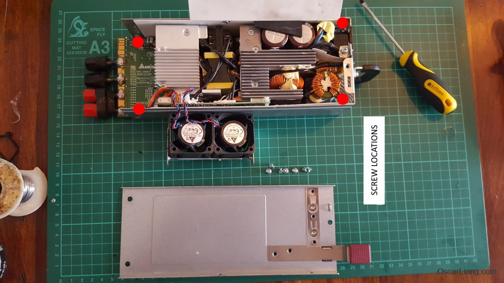 HP-D800-psu-server-power-supply-for-lipo-charger-screw-location-open-case