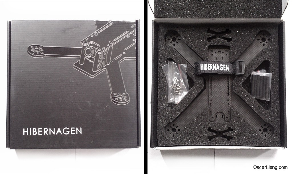 Hibernagen-Menel-X-5-Mini-Quad-frame-unbox