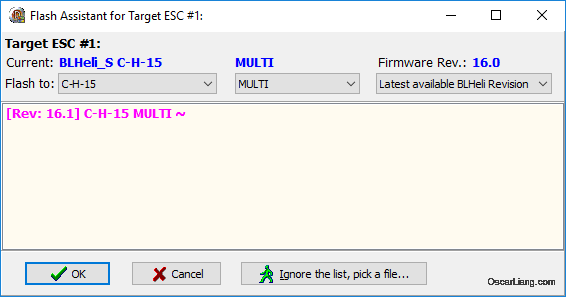 how-to-flash-blheli_s-click-flash-choose-latest-firmware-version