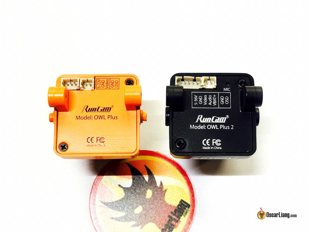 runcam-owl-plus-2-fpv-camera-night-flying-compare-old-version-back-connector