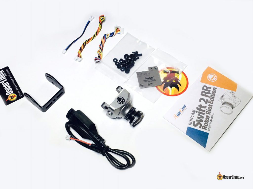 rotor-riot-swift-2-fpv-camera-accessories-unboxing-parts-components