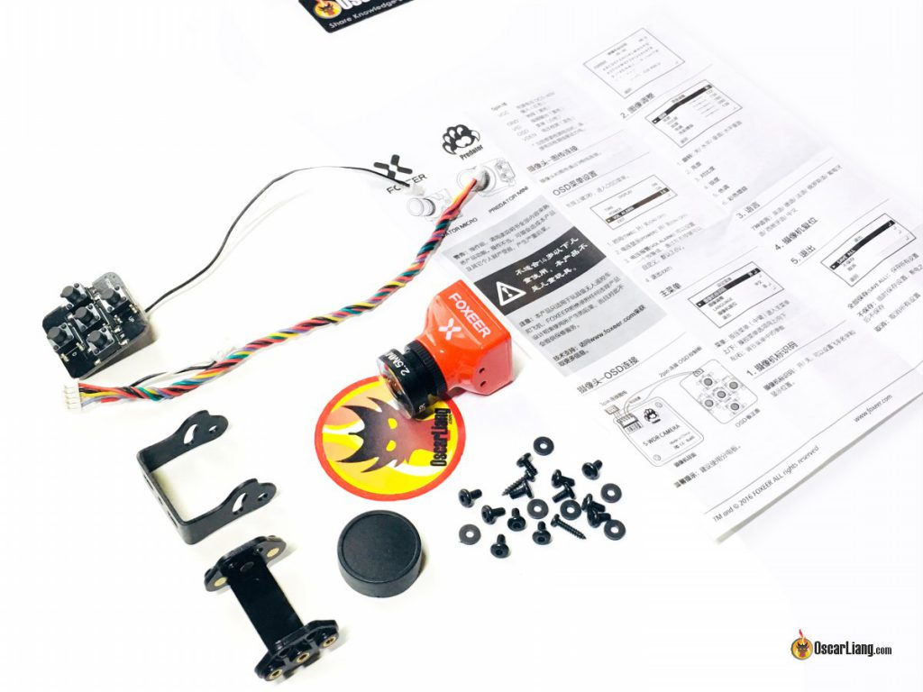 foxeer-predator-fpv-camera-parts-components-package
