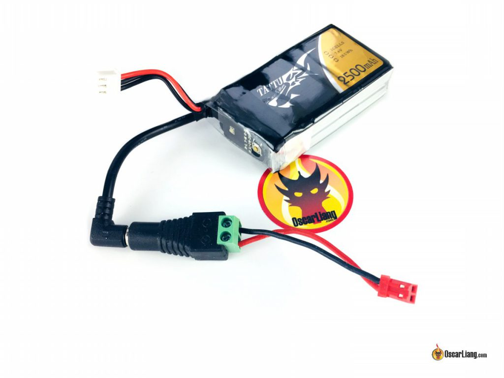 tattu-2s-2500mah-lipo-battery-fpv-goggles-charging-cable-adapter-barrel-to-jst