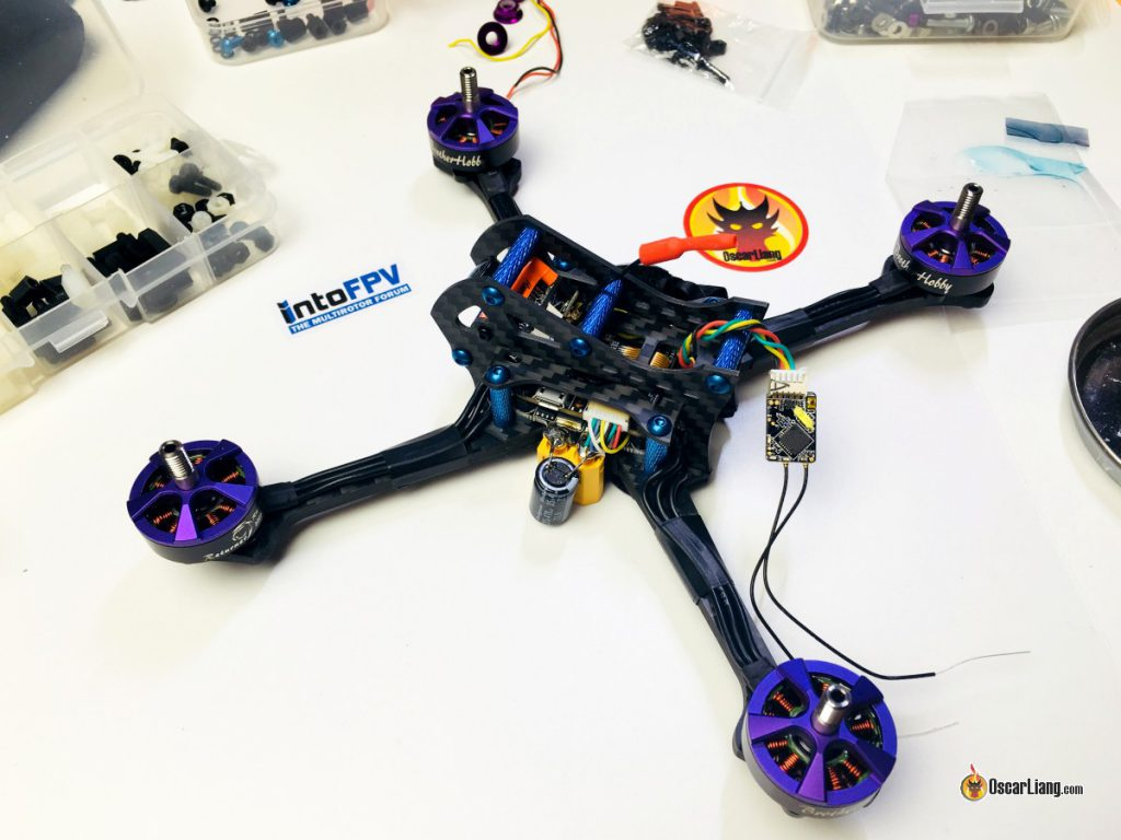 demonrc-fury-5x-lite-mini-quad-racing-drone-frame-build-rx-receiver