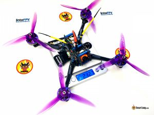 demonrc-fury-5x-lite-mini-quad-racing-drone-frame-build-weight