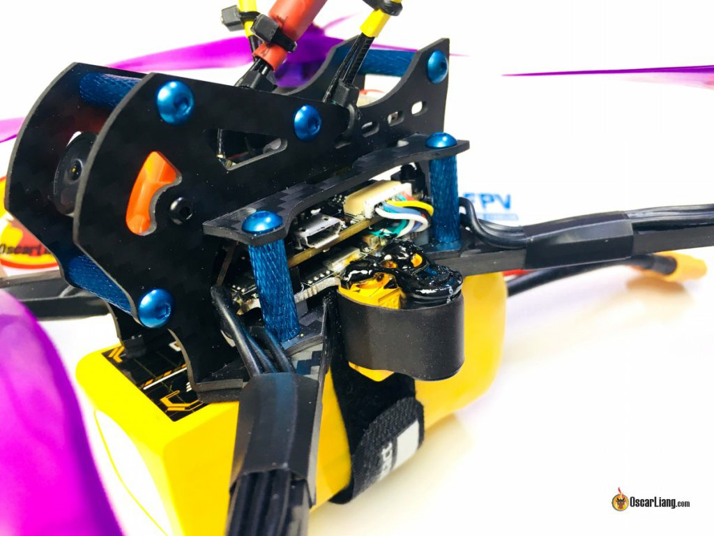 demonrc-fury-5x-lite-mini-quad-racing-drone-frame-build-xt60-liquid-tape