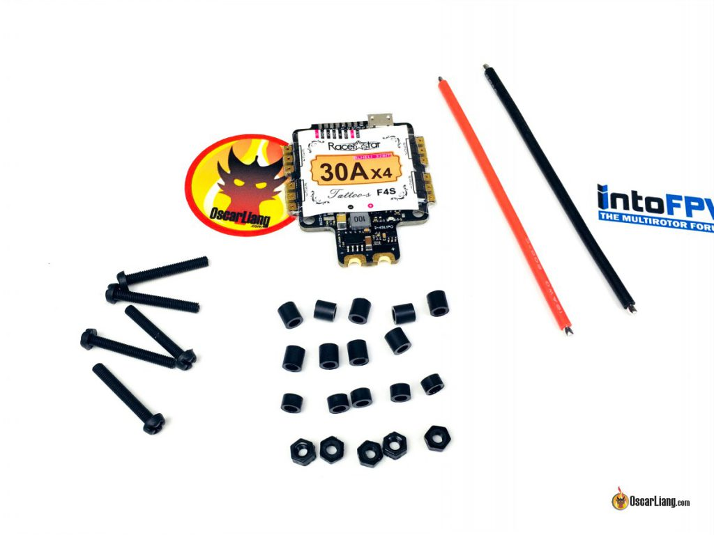racerstar-tattoof4s-fc-esc-integrated-flight-controller-package-parts