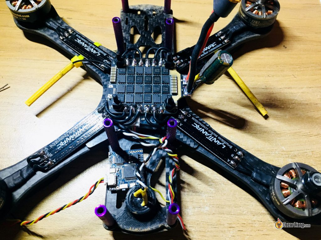 race-wire-in-a-mini-quad-racing-drone-4in1-esc-soldering